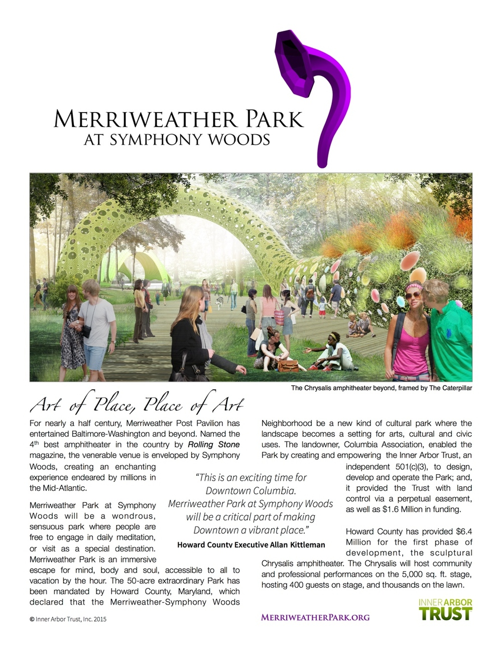 Merriweather Park Brochure