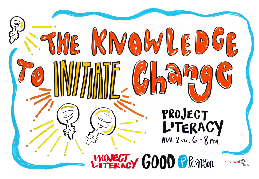 project literacy graphic recording 7