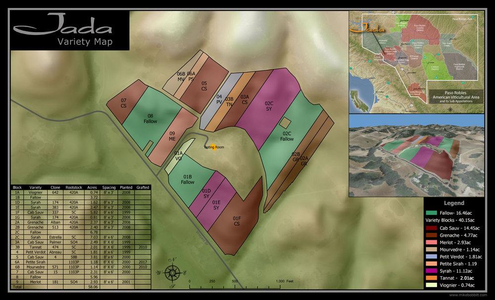 Varietal Map