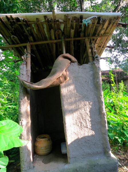 Best latrine exterior.