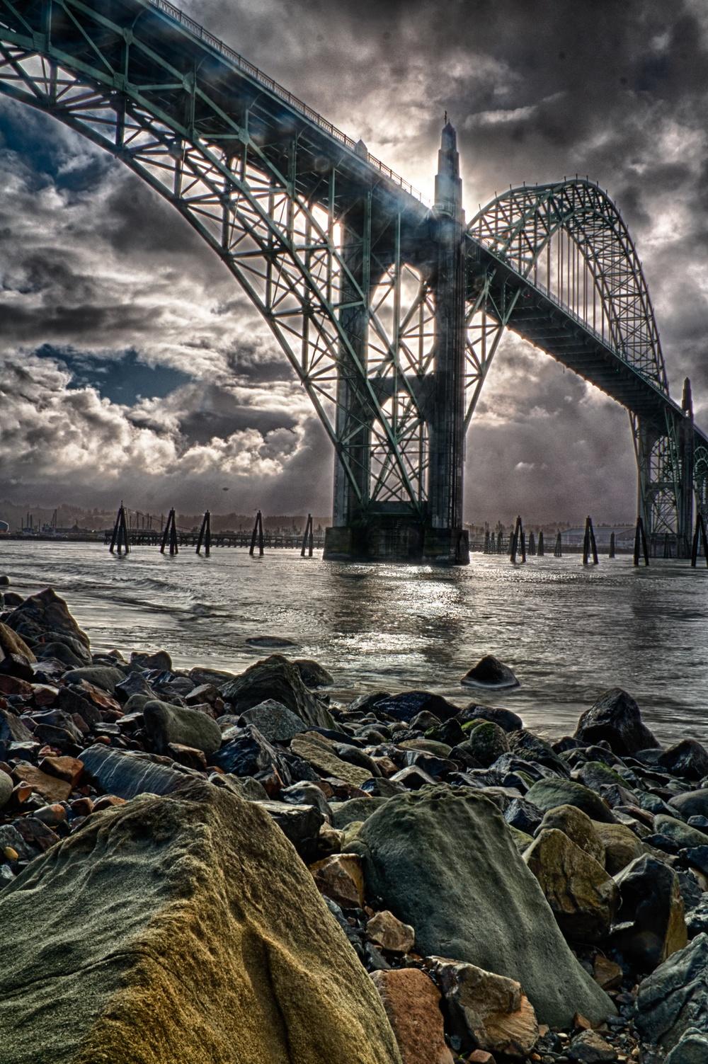 Yaquina Bay Bridge HDR