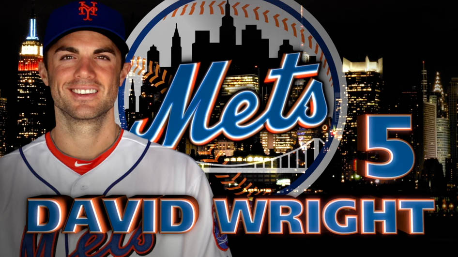 David Wright Mets Headshot