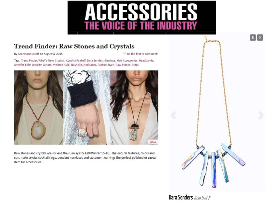 ACCESSORIES MAGAZINE - RAW STONES - AUGUST 2015.jpg