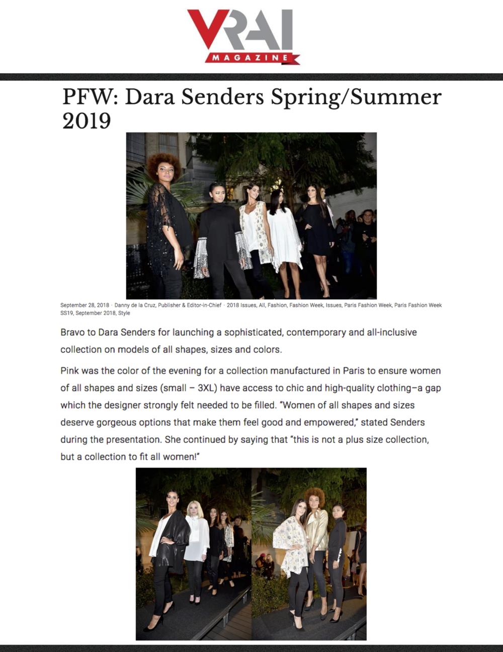 VRAI Magazine - Dara Senders - PFW SS19.png