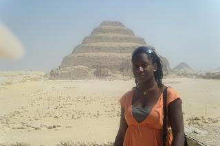 - Jazelle Hunt, HU Study Abroad Kemet 2009, Saqqara
