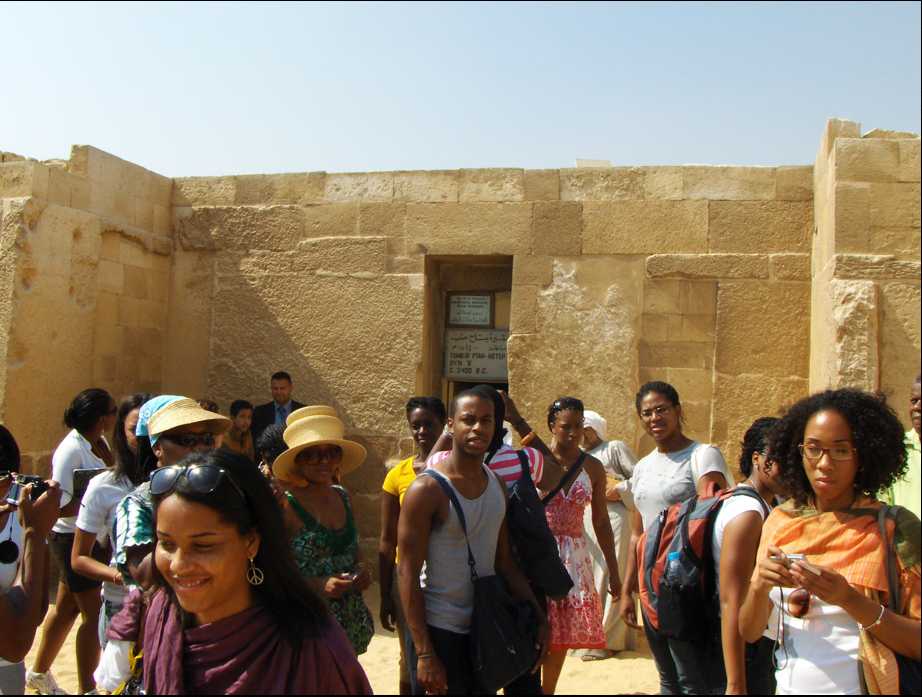 - HU Study Abroad Kemet, 2010, Tomb of Ptah Hotep