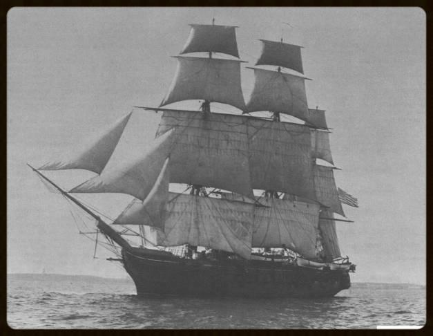 The  Jamestown,  built in 1844