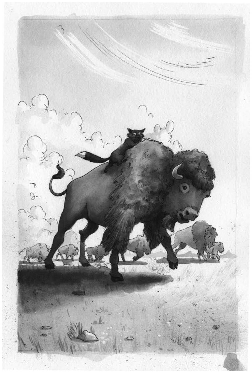 Cecil's wild ride.