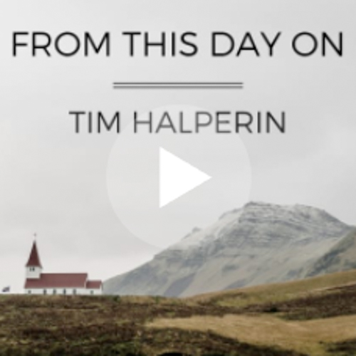 Tim Halperin / From This Day On  One of Tim's newest tracks, it features piano and a storyline perfect for an inspiring wedding film.