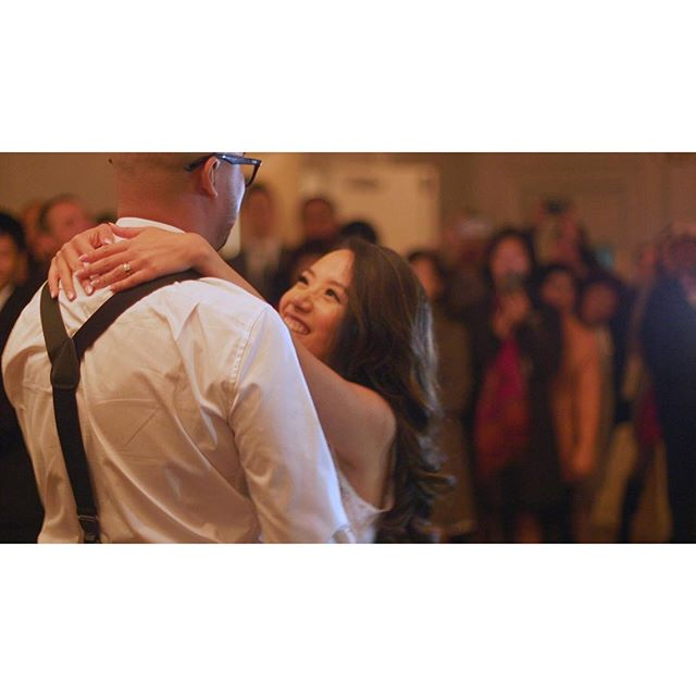 Pam and Felix's first dance was an adorable one, choreography and all. . . . . . #OneHeartFilms #OHF #love #wedding #TorontoWeddingFilms #TorontoWeddingVideo #TorontoWeddingVideographer #weddingfilms #weddingvideos #weddingday #weddinginspiration #firstdance #reception