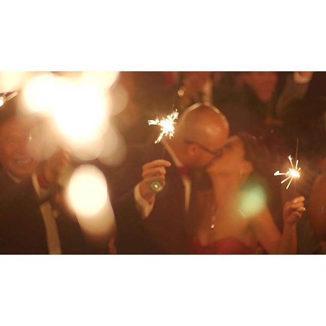 and with our love, we'll make fireworks. . . . . . #OneHeartFilms #OHF #love #wedding #TorontoWeddingFilms #TorontoWeddingVideo #TorontoWeddingVideographer #weddingfilms #weddingvideos #weddingday #weddinginspiration #bridalparty #sparklers #bright #brideandgroom #justmarried #newlyweds #lovers #truelove #forever #wesaidido #kiss #fireworks