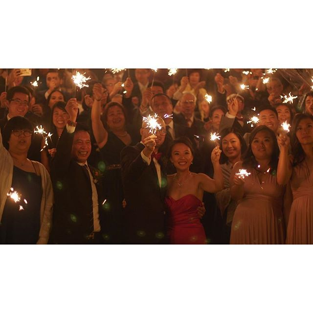 filling up the night with big bright light. . . . . . #OneHeartFilms #OHF #love #wedding #TorontoWeddingFilms #TorontoWeddingVideo #TorontoWeddingVideographer #weddingfilms #weddingvideos #weddingday #weddinginspiration #bridalparty #sparklers #bright #brideandgroom #justmarried #newlyweds #lovers #truelove #forever #wesaidido