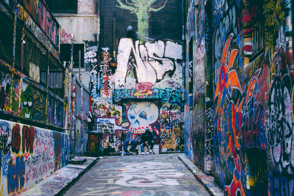 Hosier Lane - Not far from Federation Square, Hosier Lane is a perfect detour to explore with little ones. A large laneway filled with all styles of street art, it's little wonder that most travel guides recommend Hosier Lane as a destination. Despite the hype, the lane is hands-down the best place to take family photos as a memento, while appreciating the art. And the loveliest part? Next time you return to the city, the laneway canvas will be completely different.