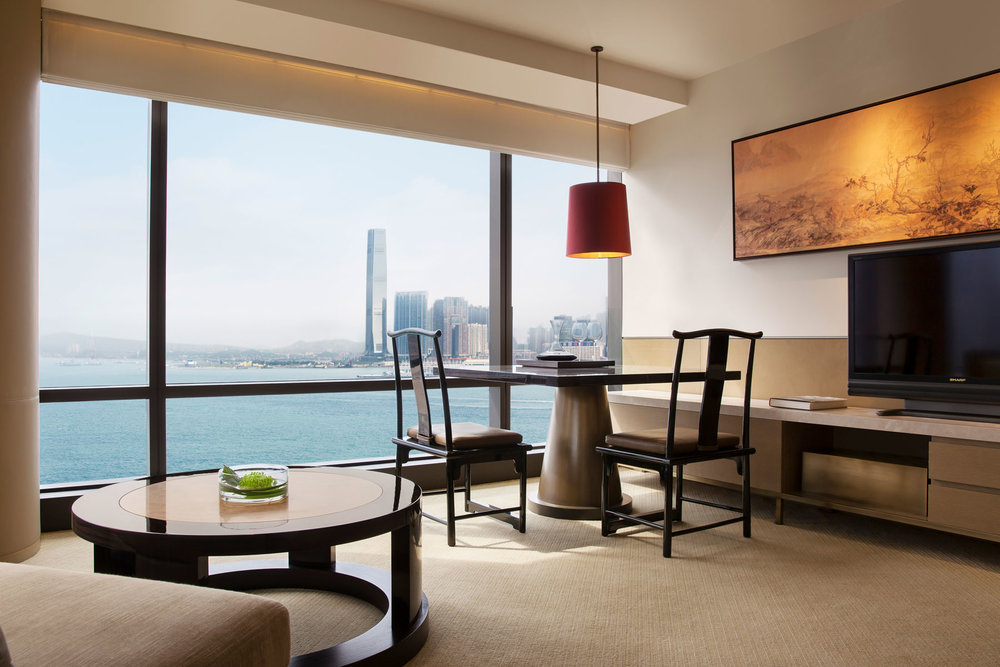 Grand Hyatt Hong Kong - Just a five minute walk to the heart of Wan Chai, the Grand Hyatt is in prime location. With inspiring harbour views, generous space and interiors by Melbourne-based BAR Studio, the Grand Hyatt provides a solid base for those who might be balancing work commitments with their travel. The generous club lounge offers a quiet space to catch up on reading or fire off some emails, while a trip to the pool will help you relax.1 Harbour Road, Wan Chai