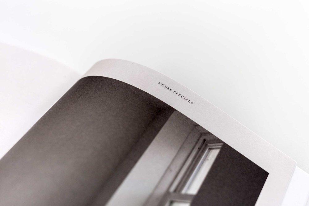 Elegant spreads fill  Peddler 's first issue. (Jeremy Smart for  Aerostorie )