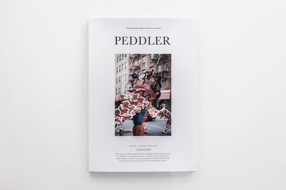 The cover of  Peddler 's first issue, Chinatown. (Jeremy Smart for  Aerostorie )