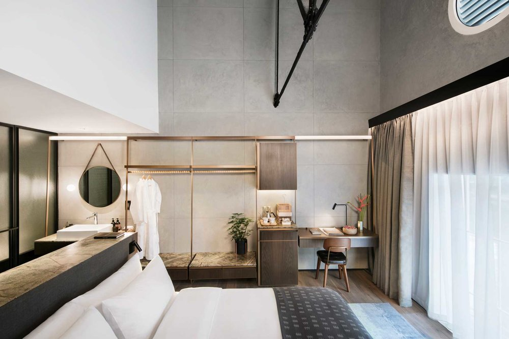 The Warehouse Hotel - One of the city's newest openings, the Warehouse has given Singapore's hotel scene an injection of creativity. From Wee Teng Wen of local firm, The Lo & Behold Group, the Warehouse Hotel feels innately Singaporean, but also feels like it's been considered with a global audience in mind. It is a hotel after all.320 Havelock Road