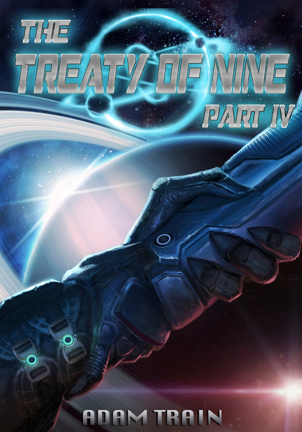 PART IV This sprawling space tale concludes with Part IV. Ten years after the war, a growing threat to the treaty opens old battle wounds and drags an unsuspecting bunch into the struggle for peace.