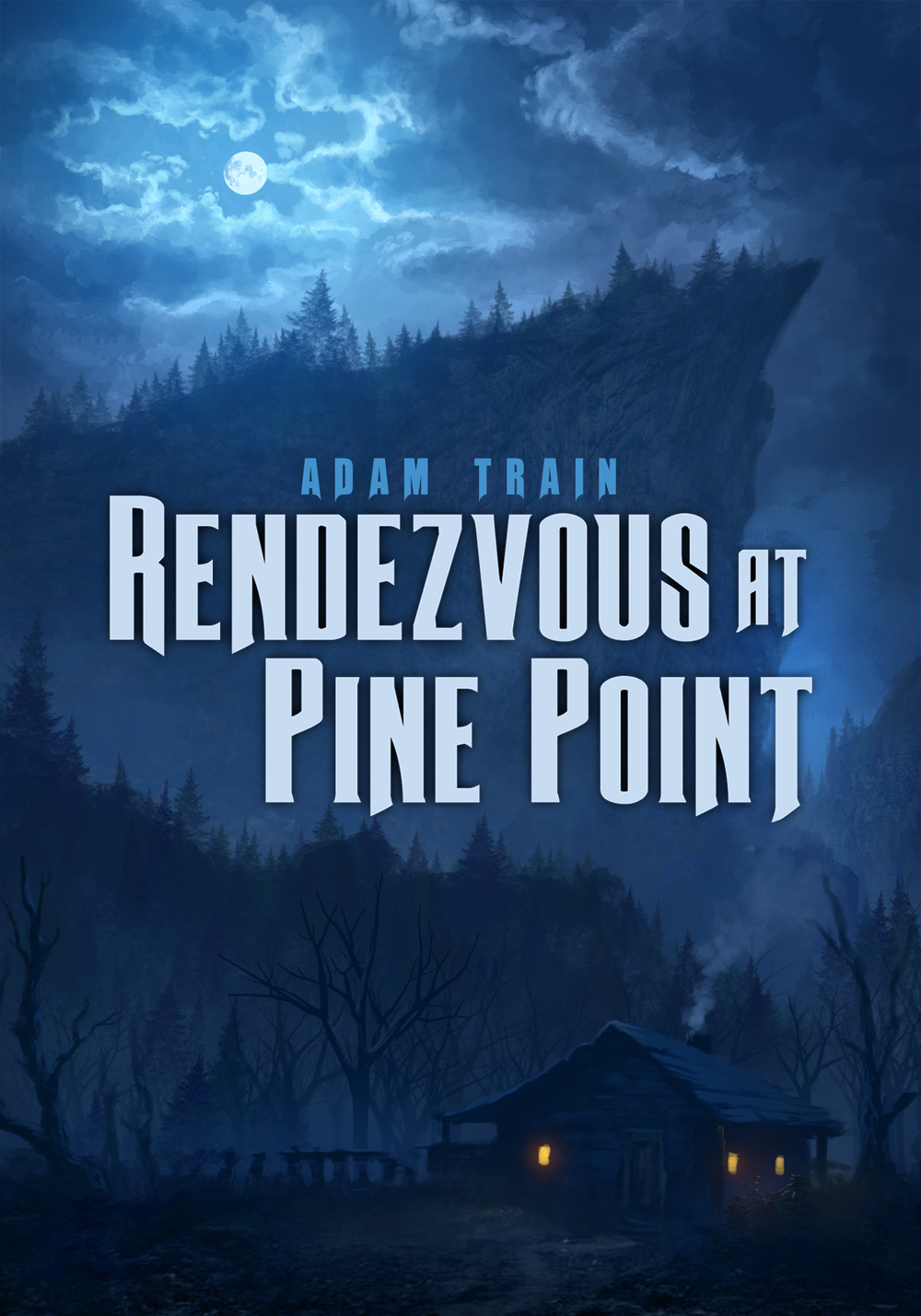 An outlaw on the run must spend a night in an isolated mountain shack. There he is confronted with the ghosts of his past and his future fate.