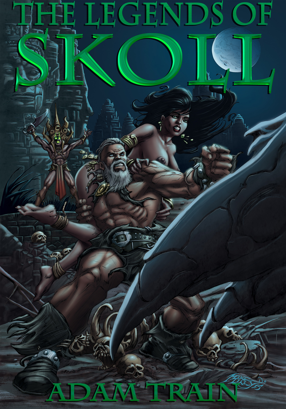 THE SKY METAL Sköll and Bhālū venture to an ancient Khmer temple hidden in the steamy jungles of the south. There they face off against a demonic cult that guards the temple's black heart; the famed sky metal.
