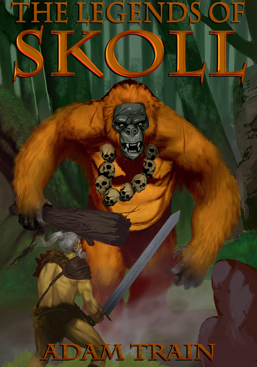 THE WILDMAN 'Blood for bounty, that is our affair' – Sköll Beset by a savage Wildman, a small Cathay village employs Sköll and Bhālū to slay the monster and liberate them from its clutches.