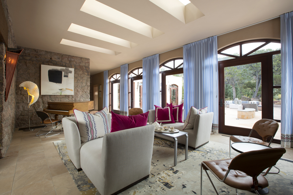 ShowHouse Santa Fe 2014 - Sun Room Interiors by Annie O'Carroll, Photo by Kate Russell