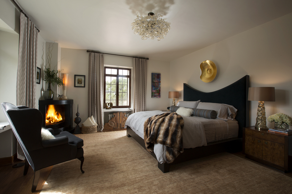 ShowHouse Santa Fe 2014 - Guest Bedroom Interiors by Erica Ortiz, Photo by Kate Russell