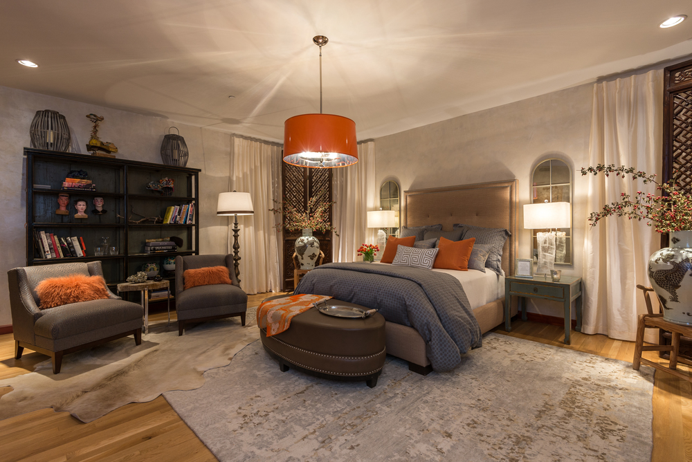 ShowHouse Santa Fe 2014 - Guest Bedroom Interiors by Patti Stivers & Virginia Smith, Photo by Lou Novick