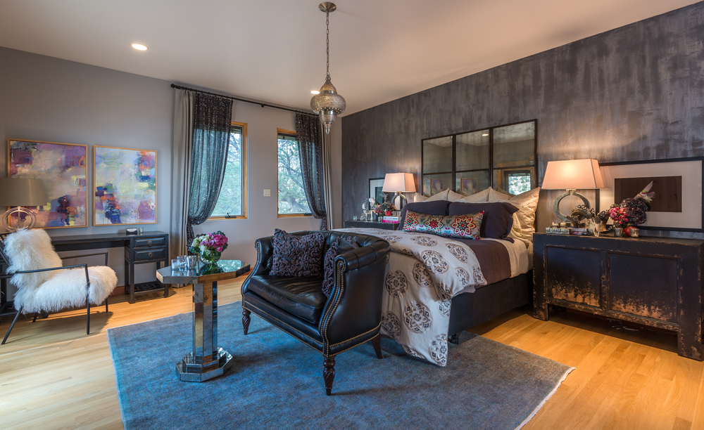 ShowHouse Santa Fe 2014 - Guest Bedroom Interiors By Chandler Prewitt, Photo by Lou Novick