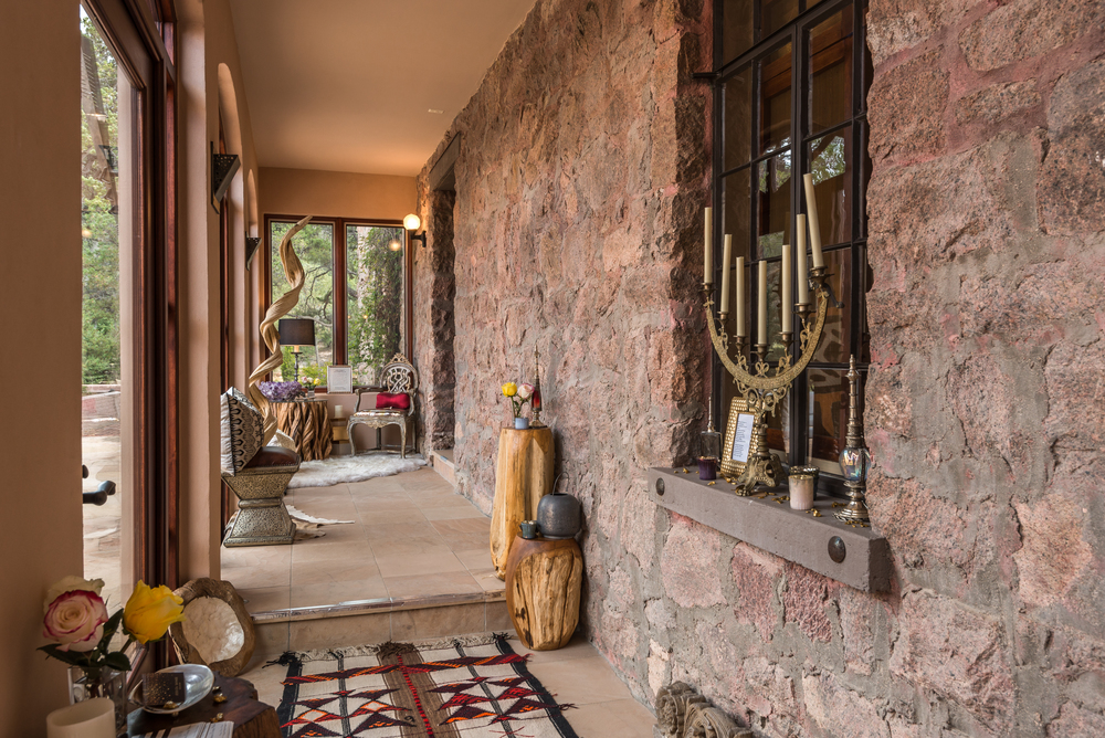ShowHouse Santa Fe 2014 - Loggia Interiors by Jessica Savage and Levia O'Neil Vrooman, Photo by Lou Novick