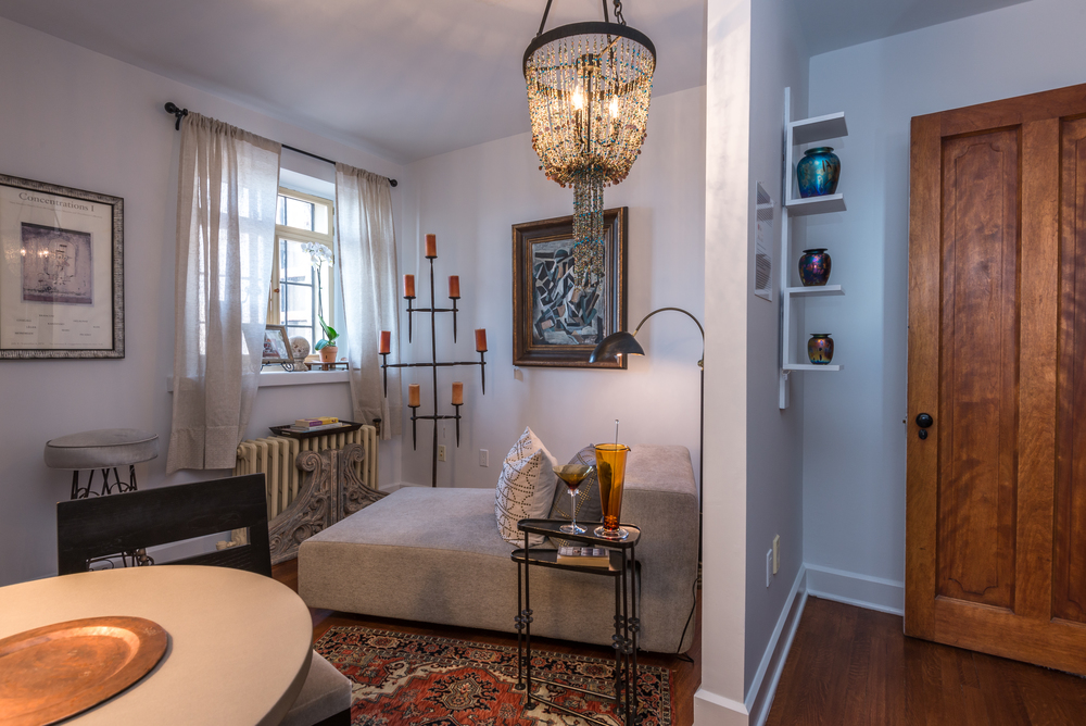 ShowHouse Santa Fe 2014 - Nannie's Room Interiors by Karen Rizzo, Photo by Lou Novick