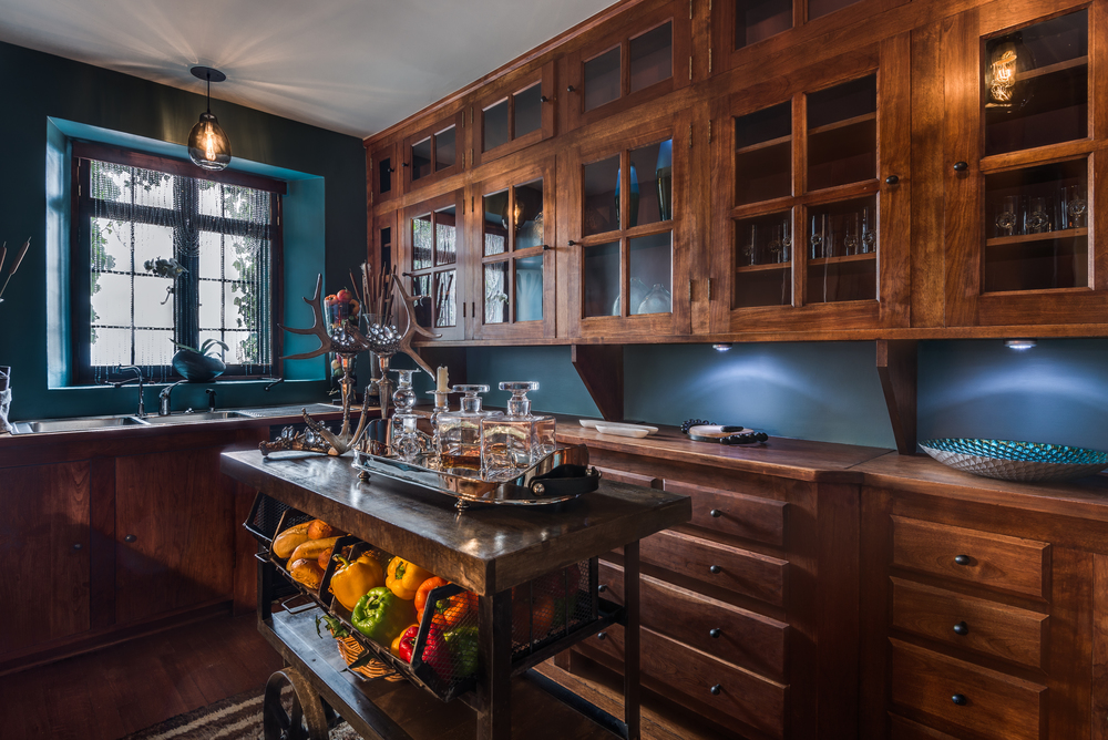 ShowHouse Santa Fe 2014 - Butler's Pantry Interiors by Greg Purdy, Photo by Lou Novick