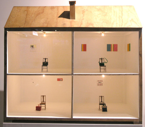 Little Old Bag  (installation view) 2005 Approx. 100cm x 80cm x 50cm The Doll's House, Preston