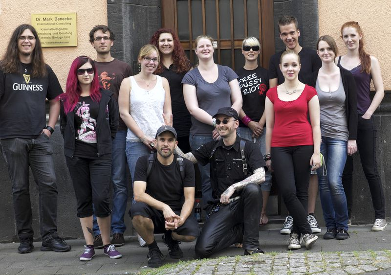Cologne Forensic Summer Training Aug. 2012