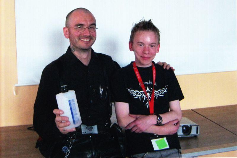 Mark Benecke und Dominik Jelen