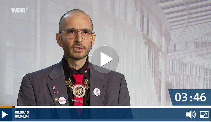 Dr.Mark Benecke:Partei für Arbeit, Rechtsstaat, Tierschutz, Elitenförderung und basisdemokratische Initiative (Die PARTEI)