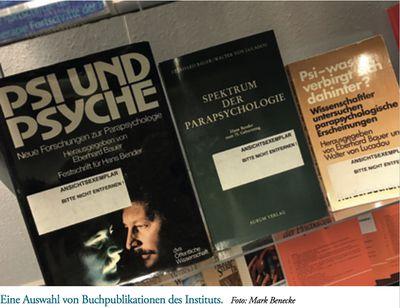 Eine Auswahl von Buchpublikationen des Instituts