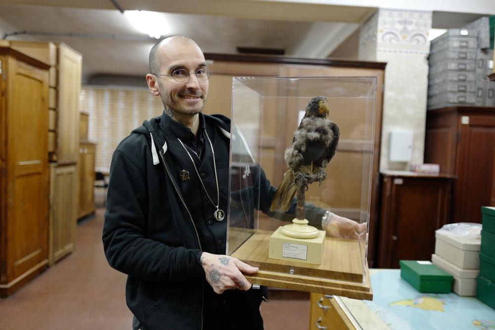 mark_benecke_mfn_museum_naturkunde_berlin_alexander_von_humboldt_papagei_L1010123.JPG