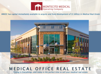 Montecito Medical Operating Company is one of the finest management companies of medical real estate in the United States....and they're now doing business in Augusta.