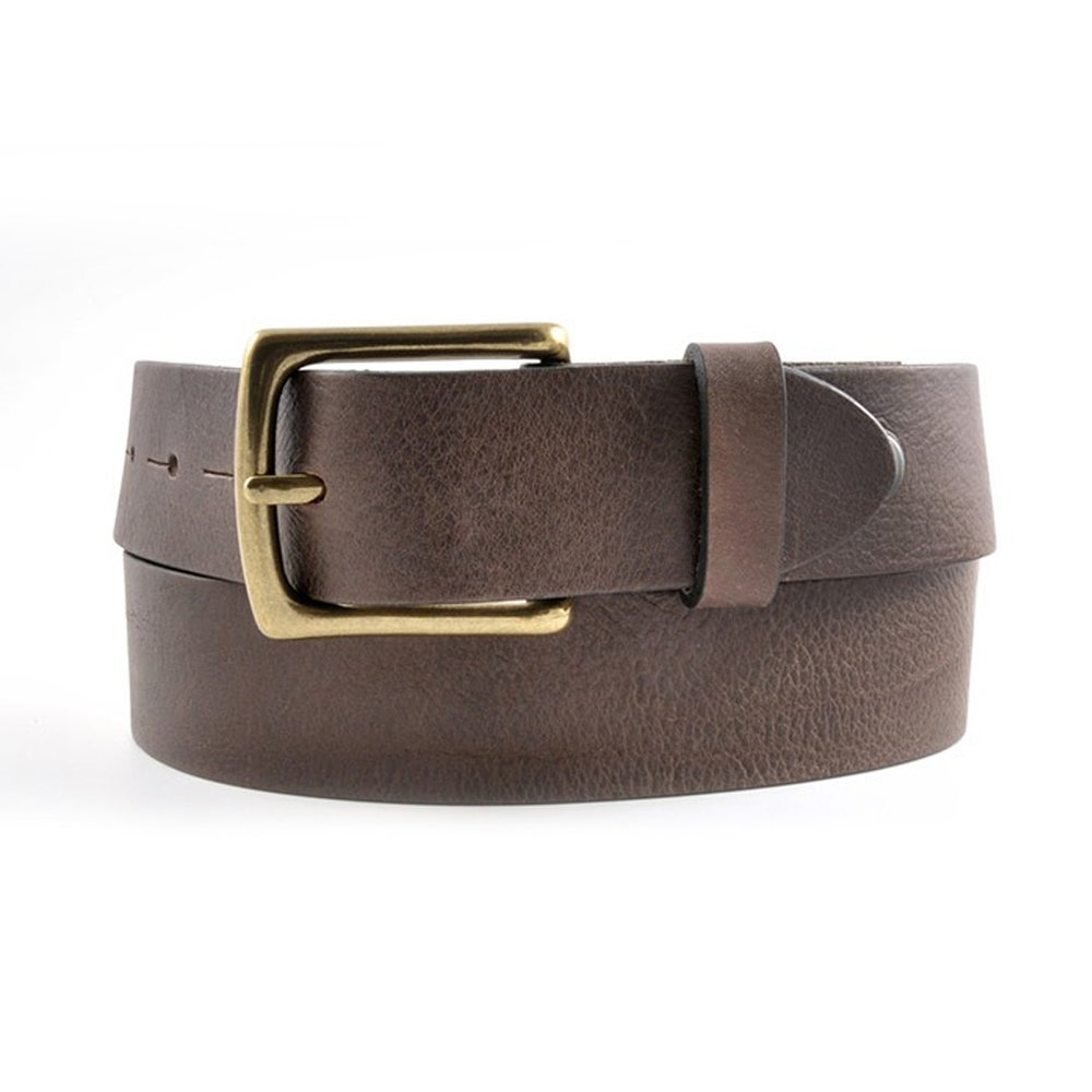 Leather Belt (Brown)