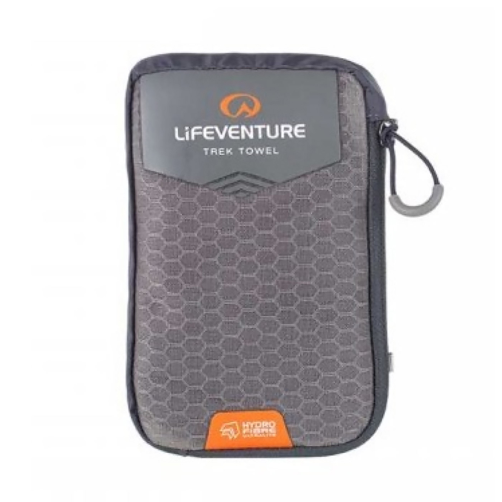 Lifeventure HydroFibre Trek Towel - Large (Grey)