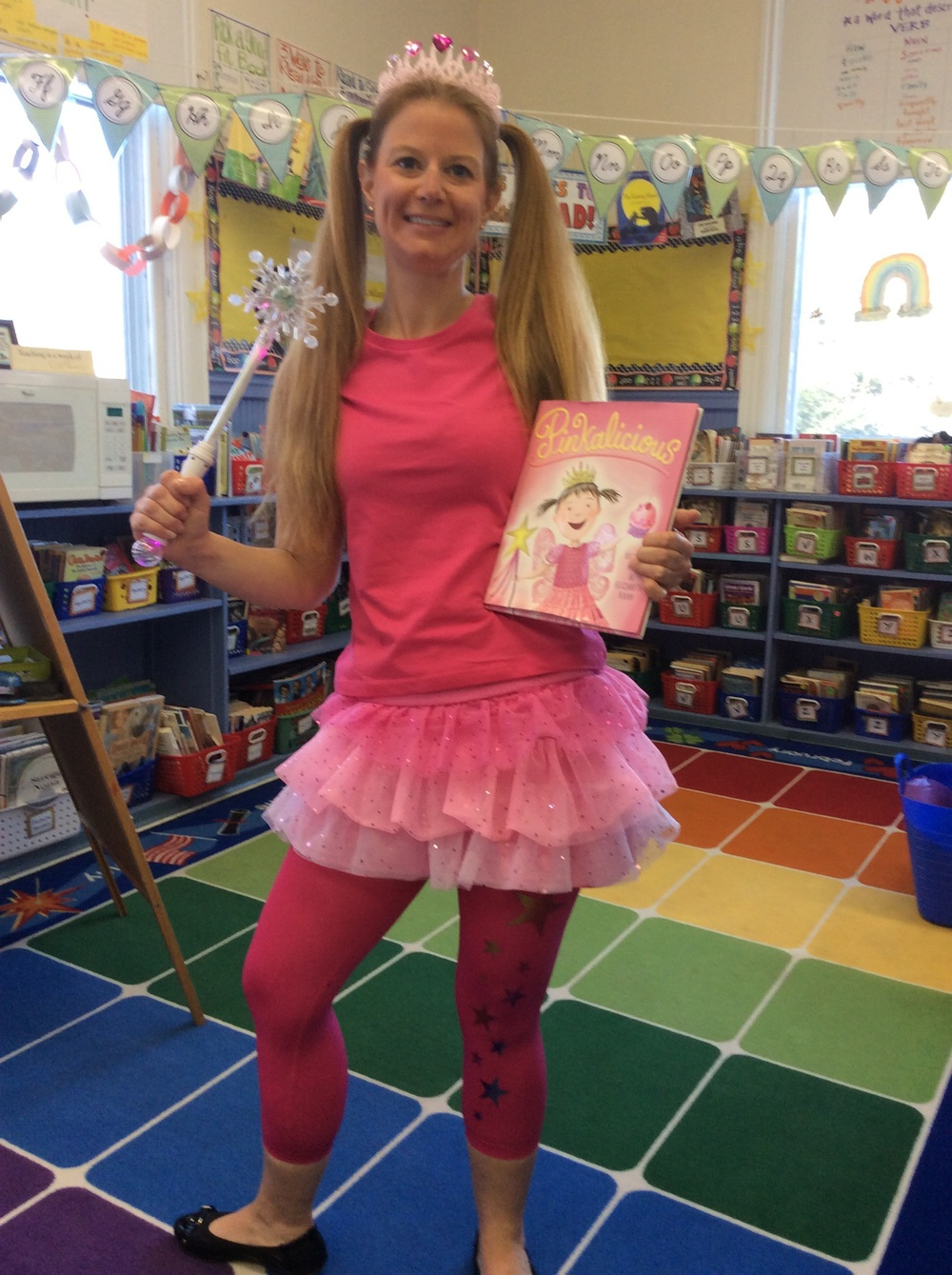 Mrs. Mauro is Pinkalicious!