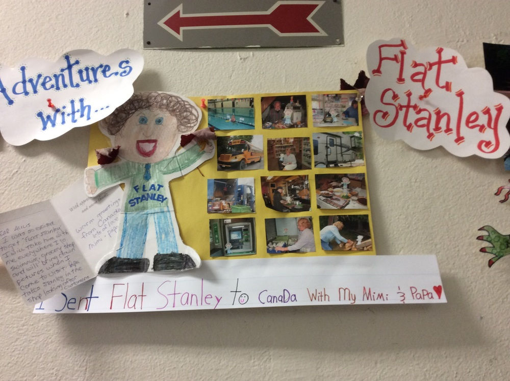 Aulis' Stanley had a very busy schedule with her grandma in Canada!