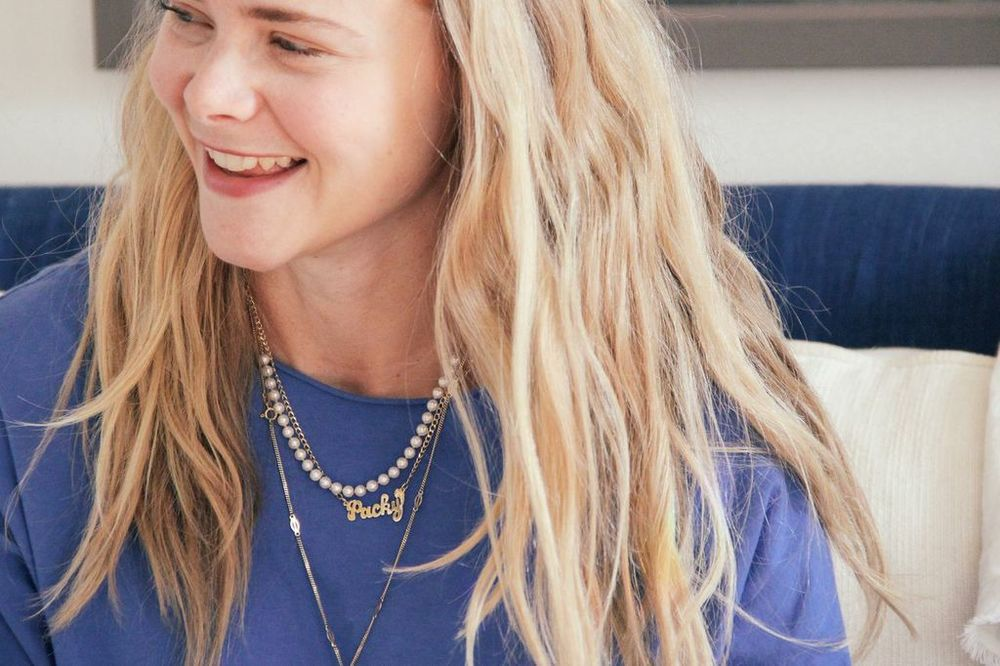 waiting for saturday : julia nason packy necklace