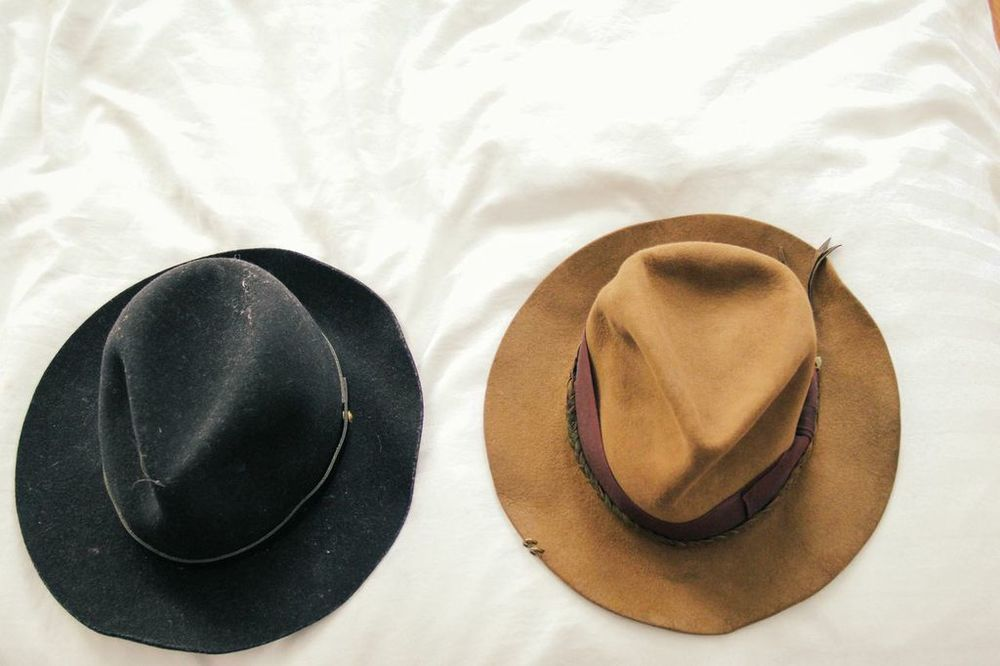 waiting for saturday : fernanda de la puente hats