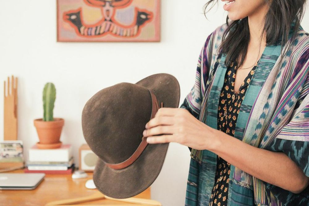 waiting for saturday : simone kitchens filson hat