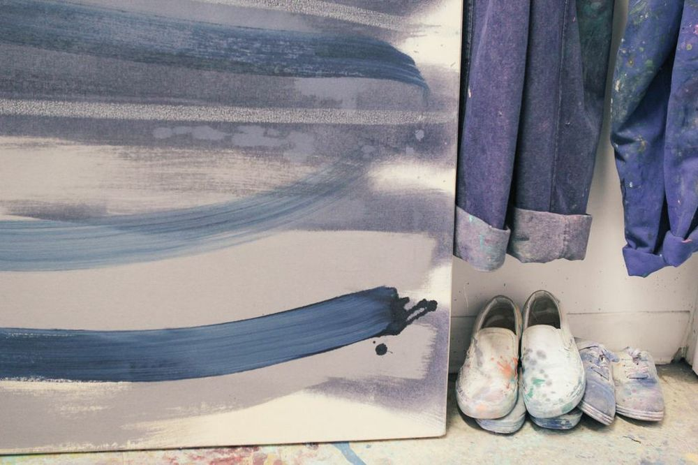 waiting for saturday : catherine pearson painting studio