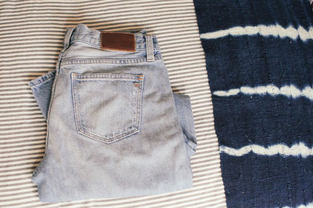 waiting for saturday : madewell jeans