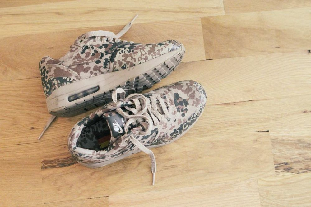 waiting for saturday : camo nike airs