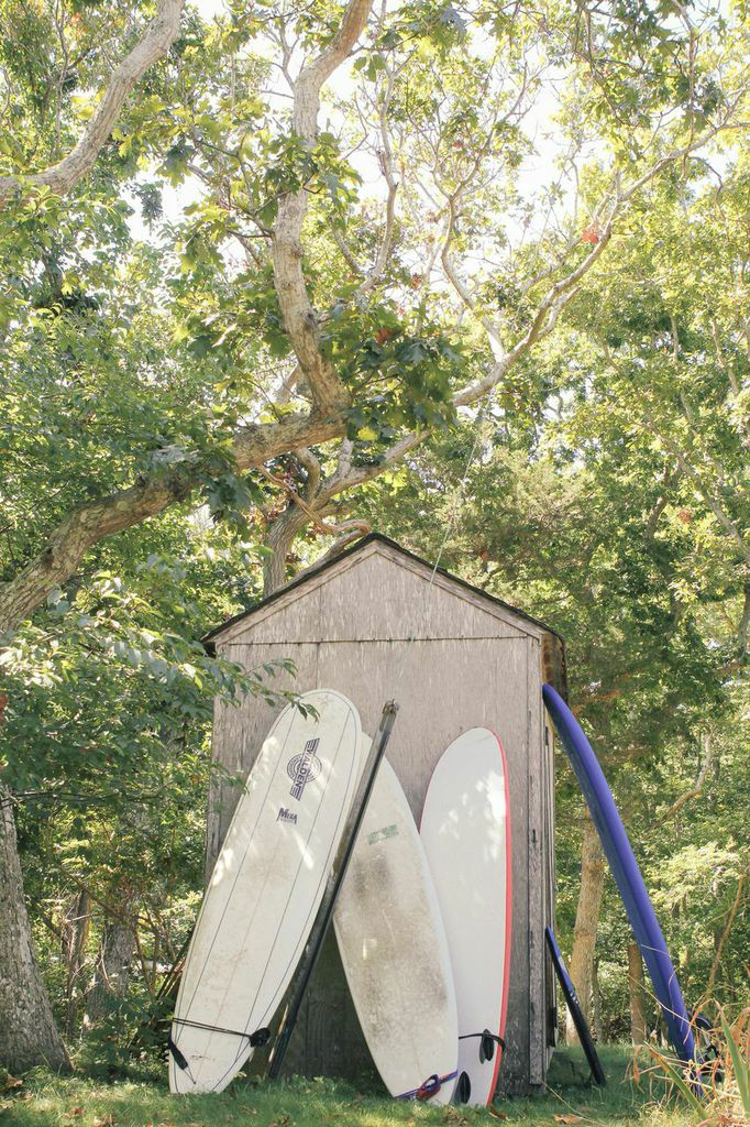 waiting for saturday : surf boards amagansett new york